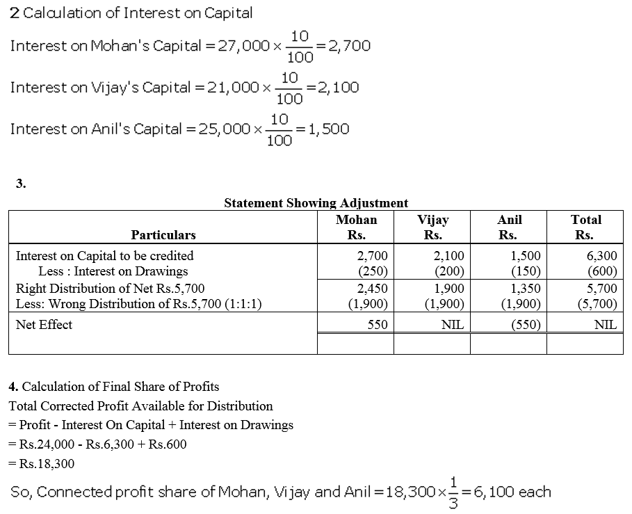 TS Grewal Accountancy Class 12 Solutions Chapter 1 Accounting for Partnership Firms - Fundamentals Q66.1