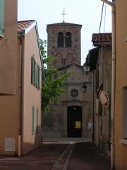 20080516 23644 0906 Jakobus Montbrison Häuser Kirche Turm - Photo of Essertines-en-Châtelneuf