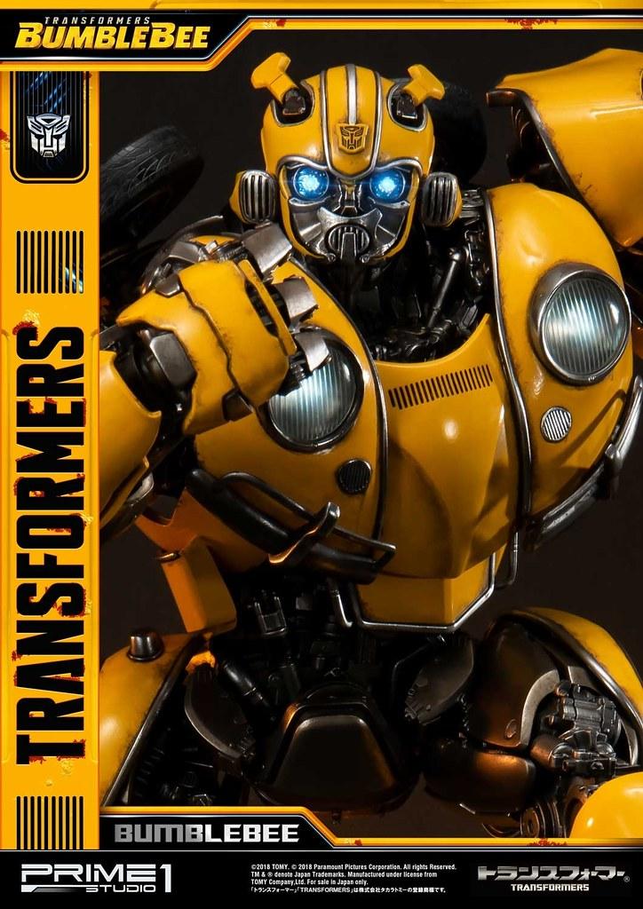 「大黃蜂...你必須保護地球和人類」Prime 1 Studio《大黃蜂》大黃蜂 バンブルビー MMTFM-24 全身雕像作品 普通版/EX版