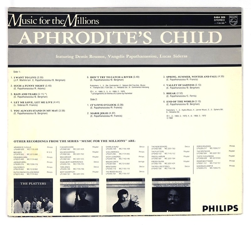 Aphrodite's Child – Aphrodite's Child