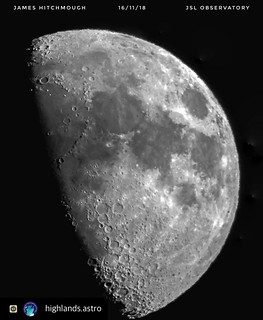 'Phone to Eyepiece' Moon 171118 | by Highlands Astronomical Society