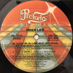 INNER LIFE:I'M CAUGHT UP(IN A ONE NIGHT LOVE AFFAIR)(LABEL SIDE-B)