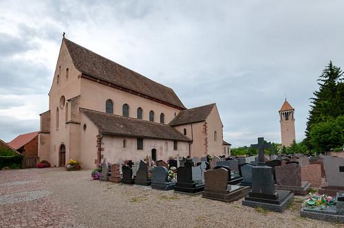 Abbatiale St Trophime (Eschau, France)-100