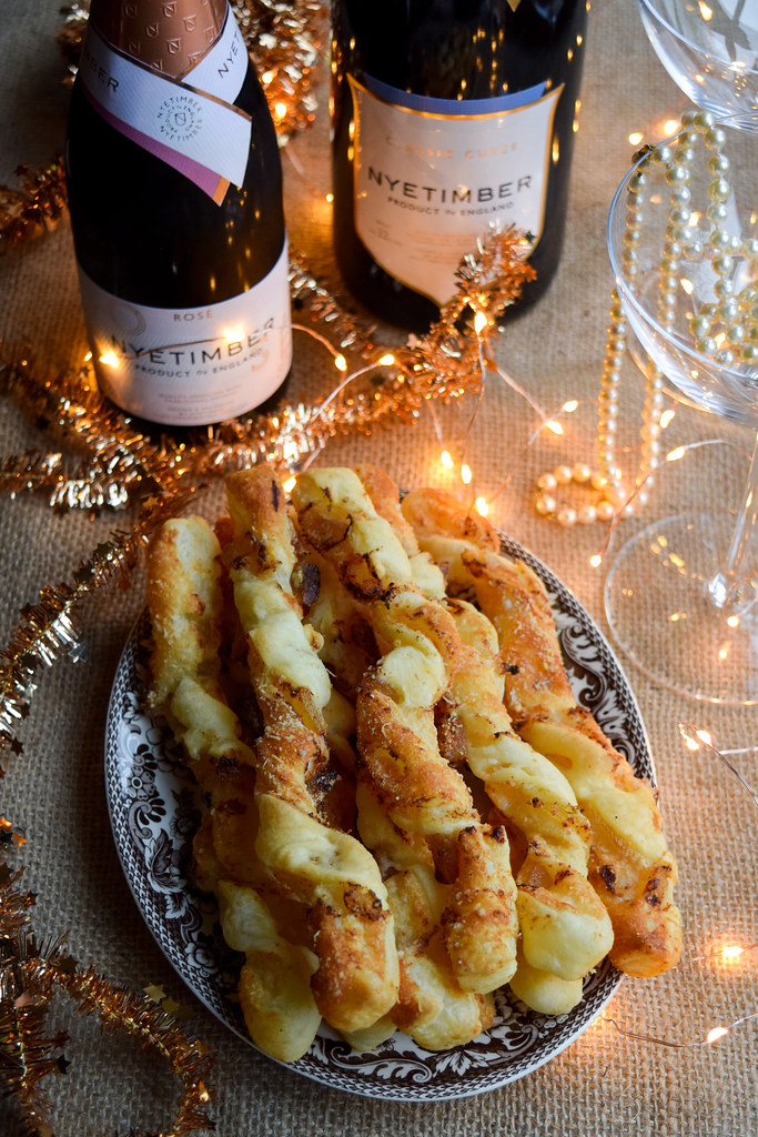 Crystallised Ginger Cheese Straws