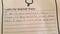 Life Quotes : Teacher Asked Students A Simple Question. Check Out Their Heartbreaking & Surprising Responses https://is.gd/ibaQtD #CitationdelaVie