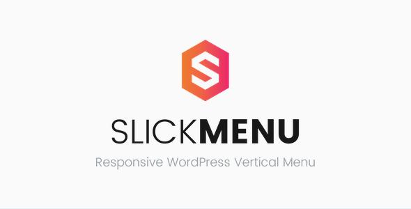 Slick Menu v1.1.9 - Responsive WordPress Vertical Menu
