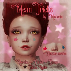 Mean Tricks Face Tattoo - Advent Gift - Dec 9nd - Kaleidoscope Shopping Mall