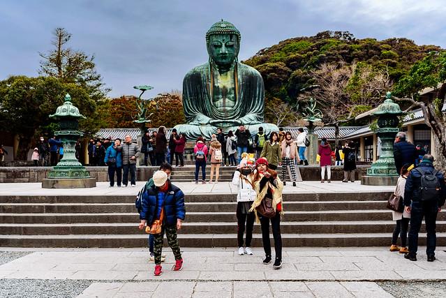 At Kamakura Great Buddha, Nikon D750, AF-S Nikkor 28mm f/1.8G