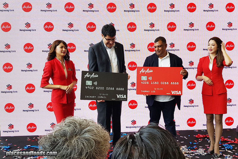airasia hong leong credit card launch