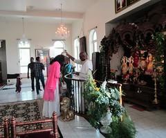 Sri Sri Radha Krishna Temple interior