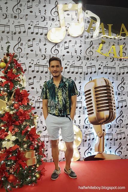 halfwhiteboy - Tropical print shirt and linen shorts 02