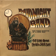 GIL SCOTT-HERON, BRIAN JACKSON AND THE MIDNIGHT BAND:THE FIRST MINUTE OF A NEW DAY(JACKET A)