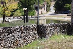 Aujols - Murette en pierre sèche (bourg) - Photo of Cieurac