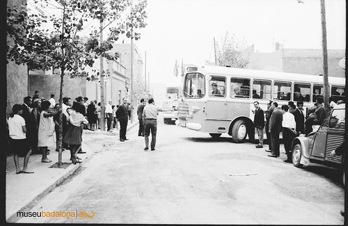 autobús Badalona girant