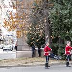 Sofia, relève de la garde au palais présidentiel