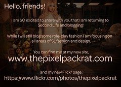 Join me @ The Pixel Packrat!