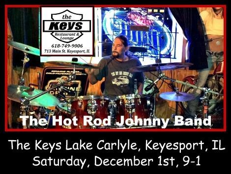 The Hot Rod Johnny Band 12-1-18