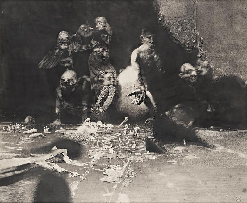 Roj Friberg - Scenographic image, 1977