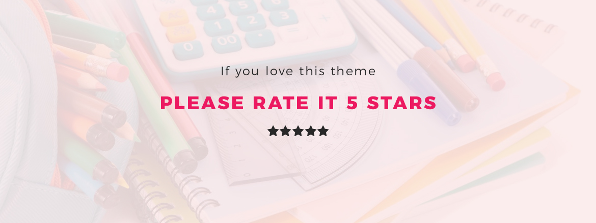 rate this theme 5 stars - Leo Neons - Stationery Prestashop theme