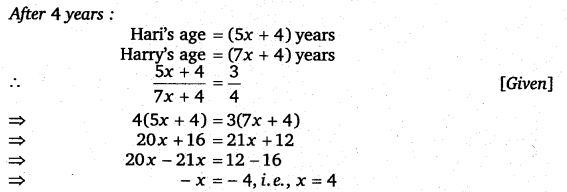 NCERT Solutions for Class 8 Maths Chapter 2 Linear Equations In One Variable 71