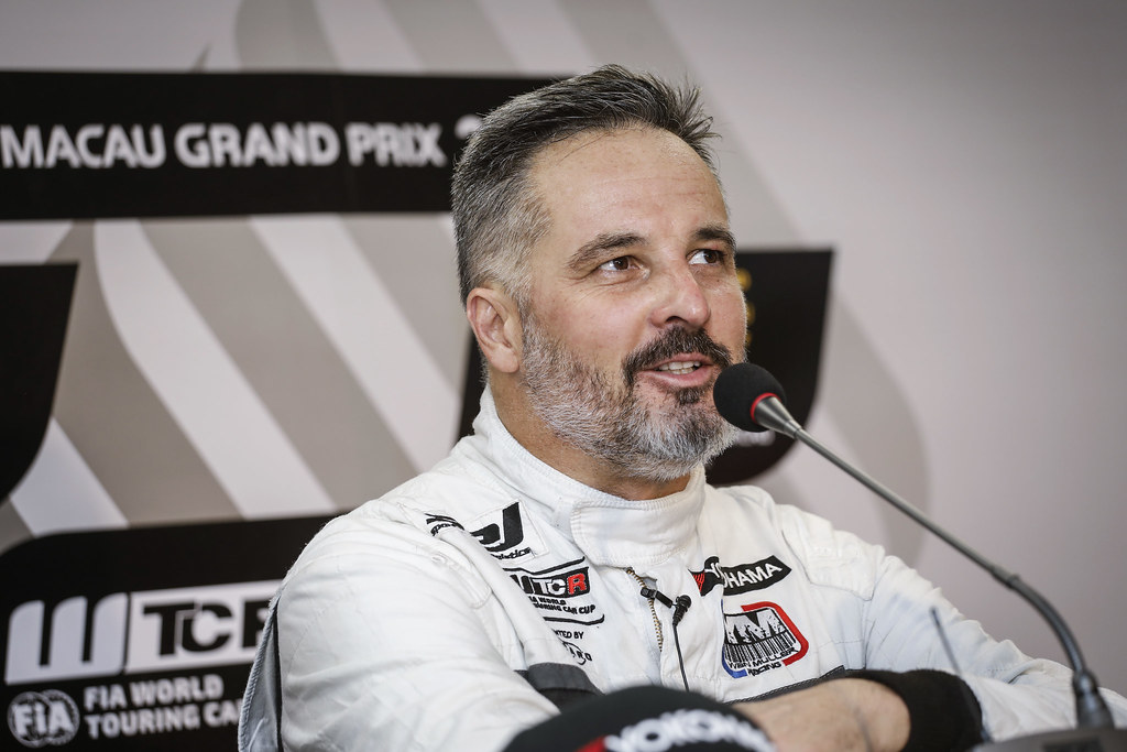 MULLER Yvan, (fra), Hyundai i30 N TCR team Yvan Muller Racing, portrait during the 2018 FIA WTCR World Touring Car cup of Macau, Circuito da Guia, from november  15 to 18 - Photo Francois Flamand / DPPI