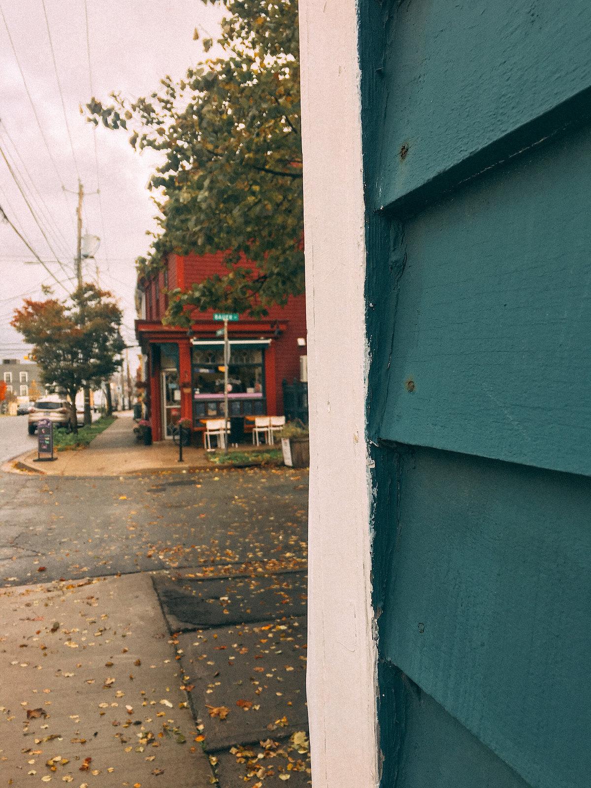 Halifax rainy street