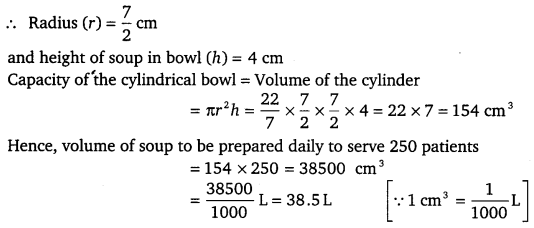 NCERT Solutions for Class 9 Maths Chapter 13 Surface Area and Volumes 40