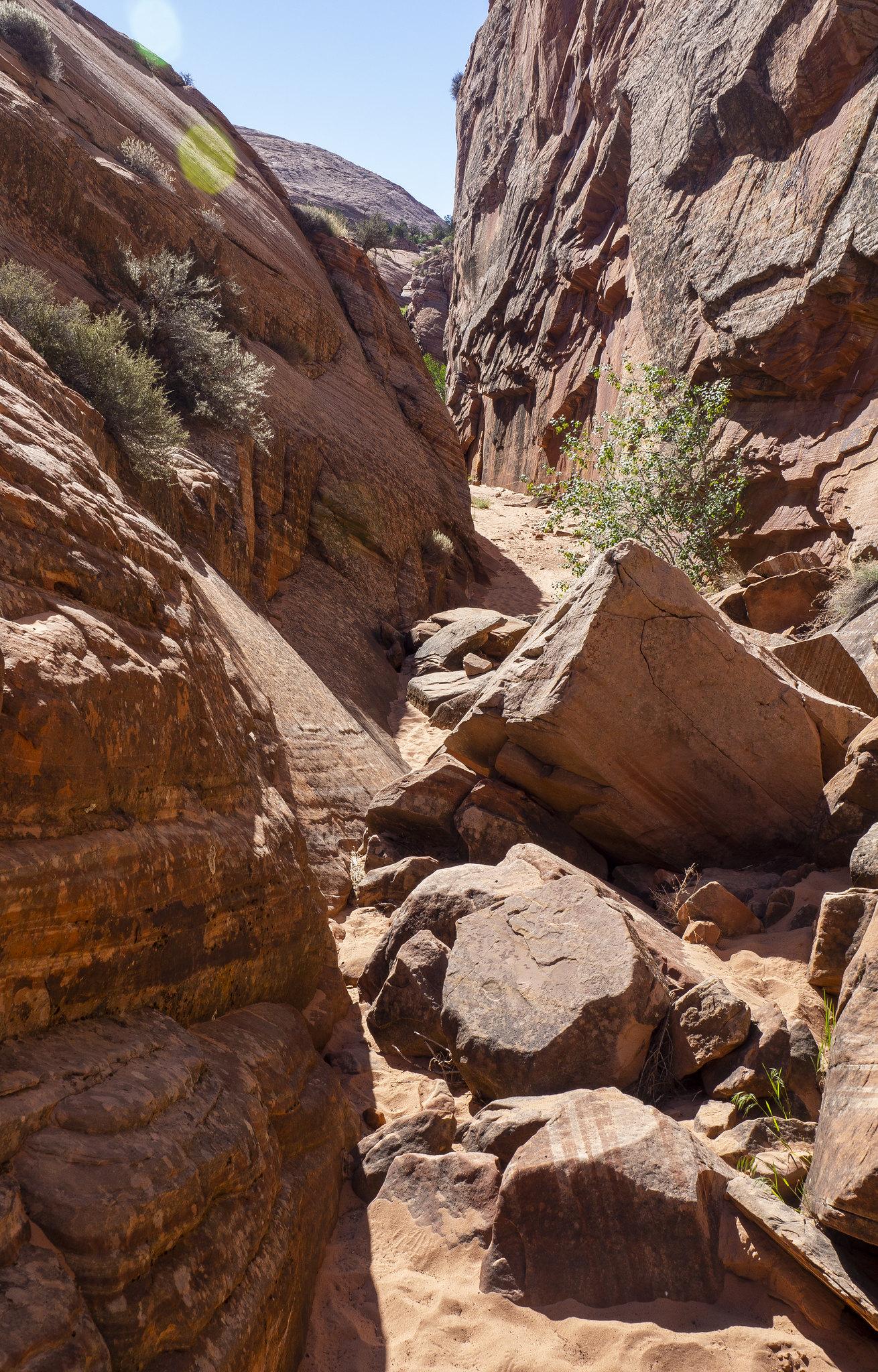 Tunnel Slot Canyon