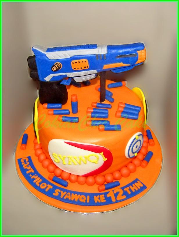 Cake NERF SYAWQI 18 cm