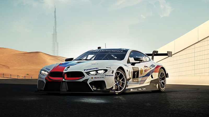 2018 #1 BMW M Motorsport M8 GTE