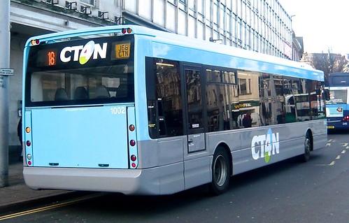 J66 CTN 'Community Transport for Nottingham' (CT4N) No. 1002. Optare Tempo X1200 /4