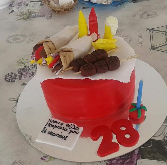 Cake by My Sugar Cookies Cakes Eleni Triantafullidou