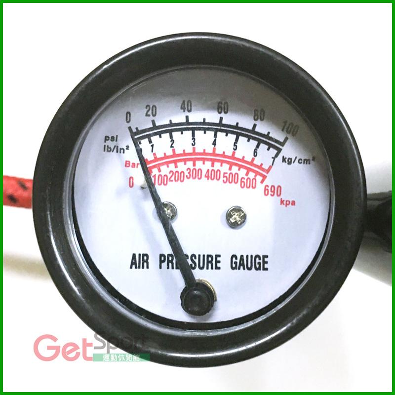 成功牌高壓打氣筒(附氣壓表)