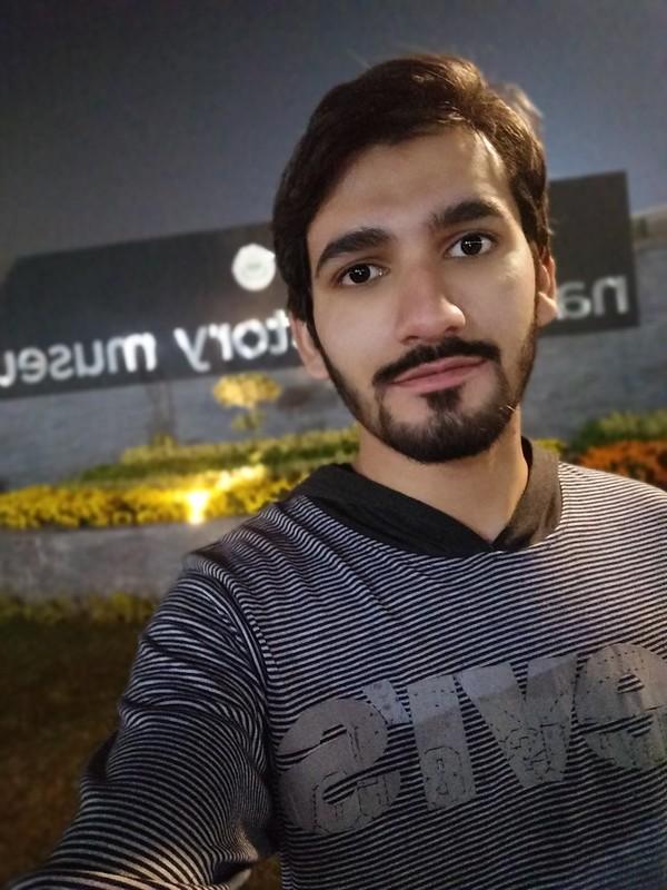 Selfie with Vivo Y95