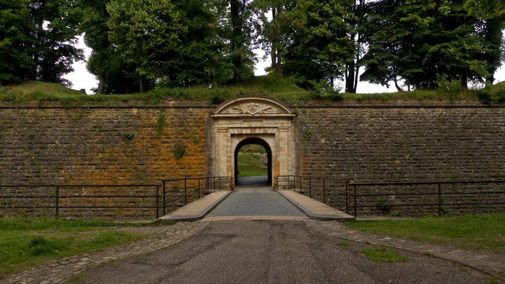 Tor im Ravelin vor der Porte de France