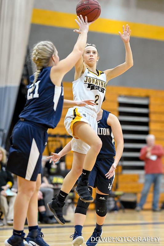 Jonathan Law vs. Lauralton Hall - High School Girls Basketball