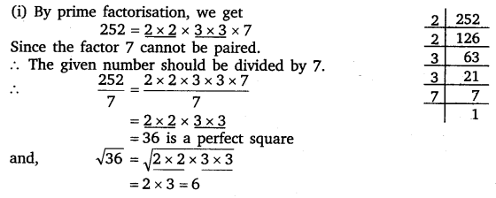 NCERT Solutions for Class 8 Maths Chapter 6 Squares and ...
