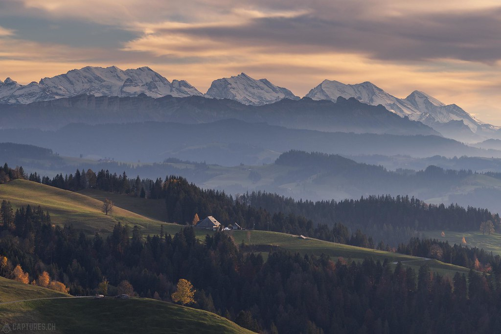 Last autumn light - Lüderenalp