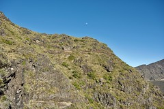 Switchbacks Under a Waxing Moon