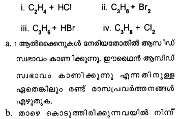 Plus One Chemistry Model Question Papers Paper 3Q29