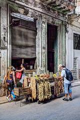 Cuba - Havana - Street vendors
