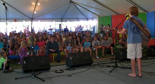 2011 MerleFest Acoustic Kids - Saturday Afternoon