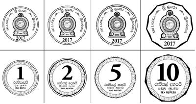 New smaller Sri Lankan coins