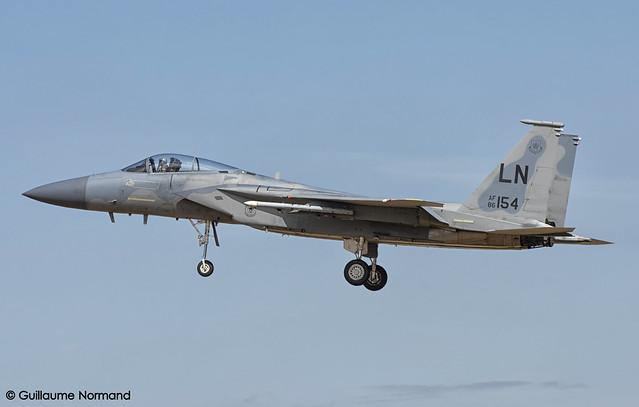 McDonnell Douglas F15C United, Nikon D7200, AF-S VR Zoom-Nikkor 70-300mm f/4.5-5.6G IF-ED