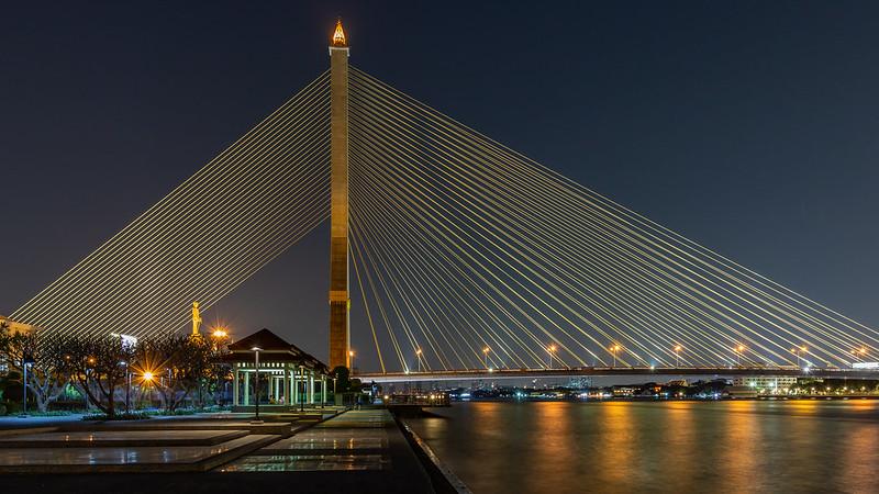 Rama VIII Bridge/ Bangkok