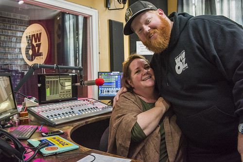 Leslie Cooper and Doyle Cooper at WWOZ's 38th birthday - 12.4.18. Photo by Ryan Hodgson-Rigsbee rhrphoto.com