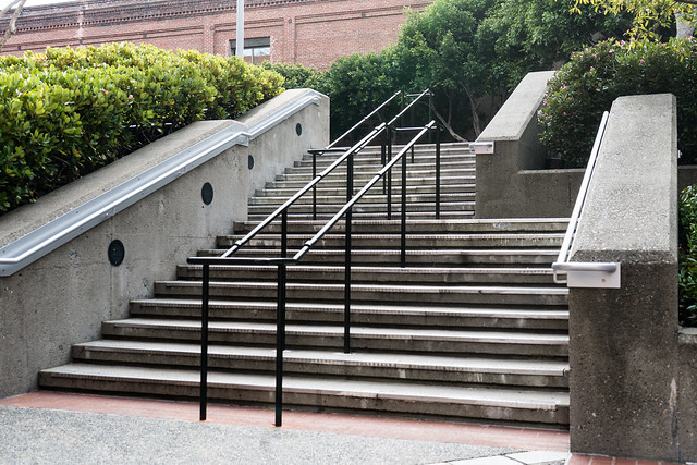 Levi's Plaza Stairs and Railings - San Francisco