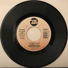 CHERRELLE with ALEXANDER O'NEAL:SATURDAY LOVE(RECORD SIDE-A)