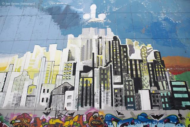 Graffititaidetta Teufelsbergissä
