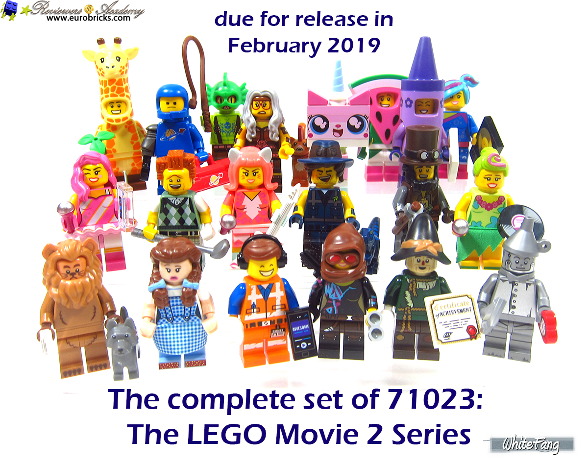 LEGO Minifigures Series Movie 2 Awesome Remix Emmet Wizard of Oz 71023